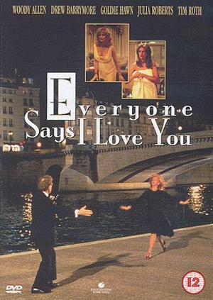 Alla säger I love you poster