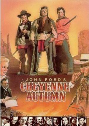 Duellen i Cheyenne poster