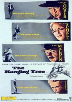 De hängdas träd poster
