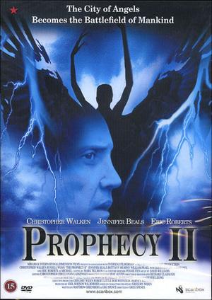 Profetian - Djävulens sändebud poster