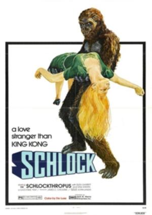 Schlock jätteapan poster