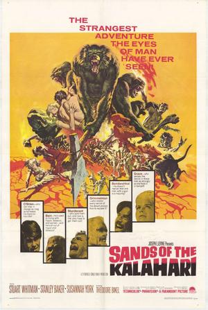 Kalaharis glödande sand poster