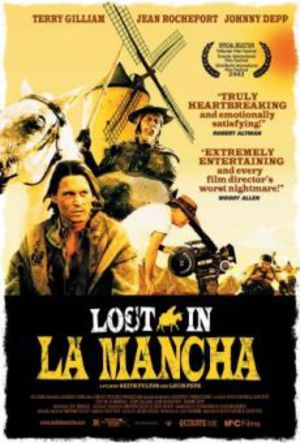 Lost in La Mancha poster