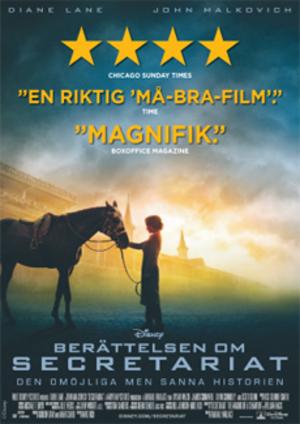 Berättelsen om Secretariat poster