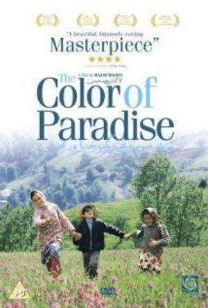 Paradisets färg poster