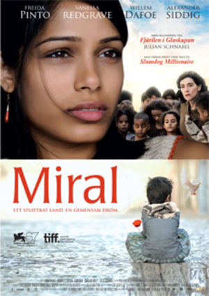 Miral poster