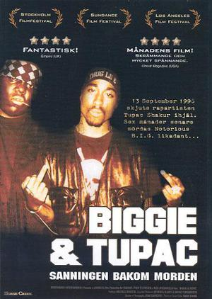 Biggie And Tupac poster