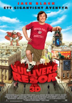 Gullivers resor poster