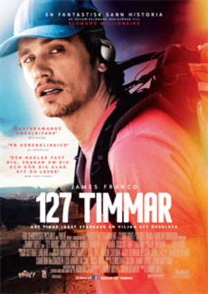 127 timmar poster