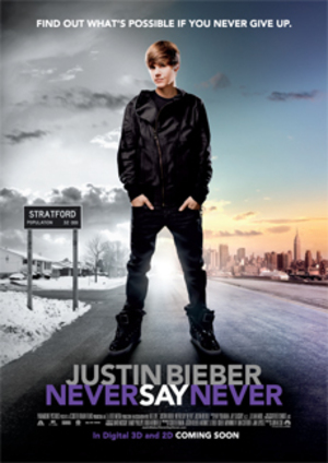 Justin Bieber: Never Say Never poster