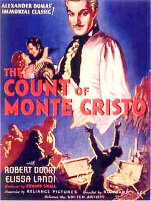 Greven av Monte Cristo poster