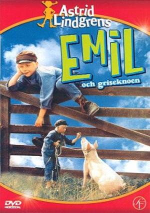 Emil och griseknoen poster