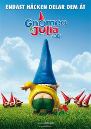 Gnomeo och Julia poster