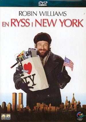 En ryss i New York poster