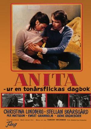 Anita - ur en tonårsflickas dagbok poster