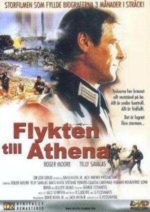 Flykten till Athena poster