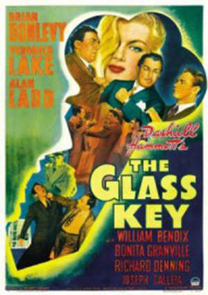 Glasnyckeln poster