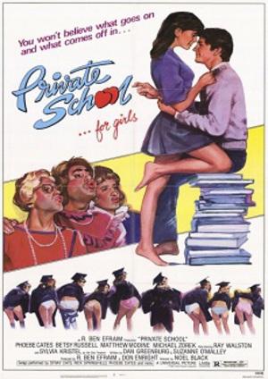 Privatskola för flickor poster