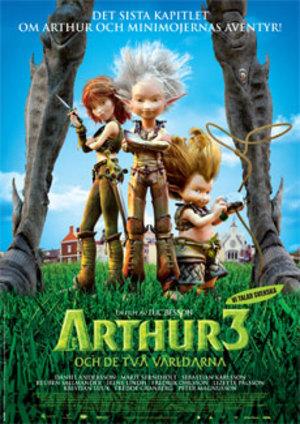 Arthur och de två världarna poster