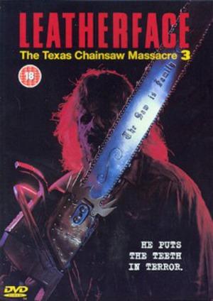 Mannen med läderansiktet - Texas Chainsaw Massacre III poster