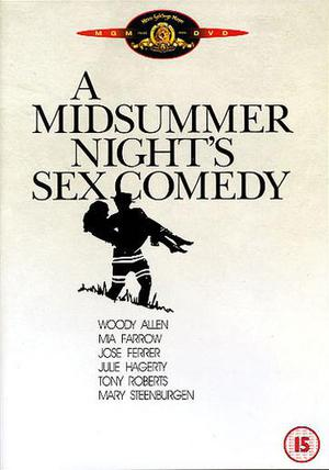 En midsommarnatts sexkomedi poster