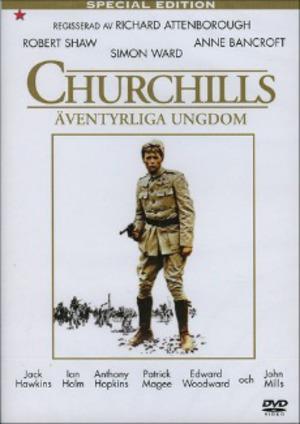Churchills äventyrliga ungdom poster