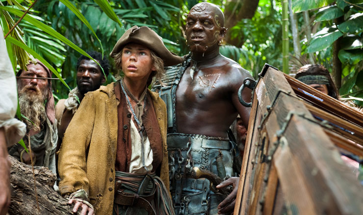 pirates of the caribbean i ordning