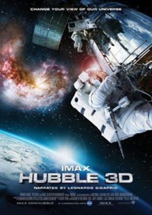 Hubble 3D poster