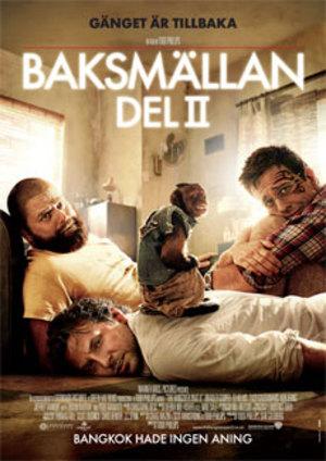 Baksmällan del II poster