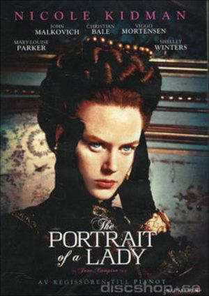 Porträtt av en dam poster
