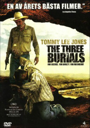 The Three Burials poster