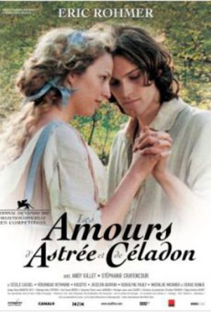 Astrée och Cèladons kärlek poster