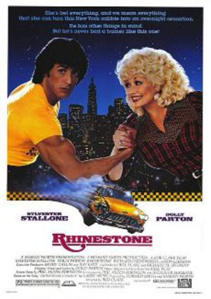 Rhinestone poster