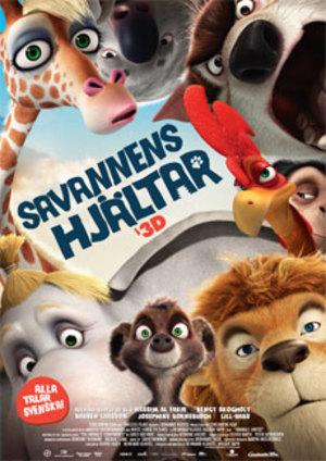 Savannens hjältar poster