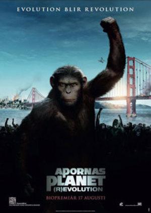 Apornas planet: (r)Evolution poster