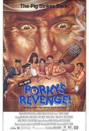 Porkys hämnd poster