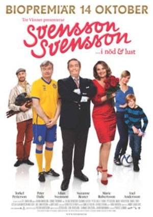 Svensson, Svensson - I nöd och lust poster
