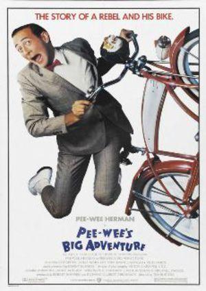 Pee-Wees stora äventyr poster