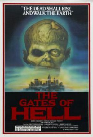 Fear in the City of the Living Dead, The Gates of Hell poster