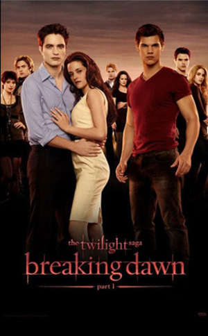Breaking Dawn - Part 1 poster