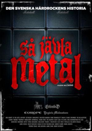 Så jävla metal poster
