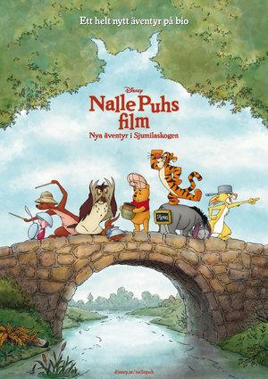Nalle Puhs film: Nya äventyr i Sjumilaskogen poster