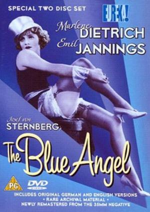 Blå ängeln poster