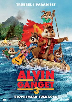 Alvin och gänget 3 poster