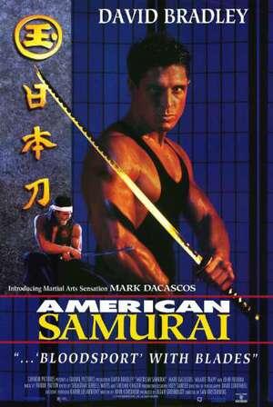 American Samurai poster