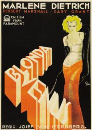 Blonda Venus poster