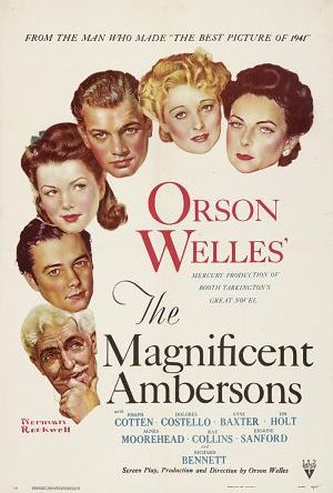 De magnifika Ambersons poster