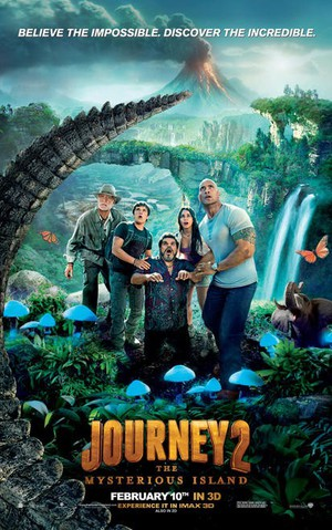 Journey to the Mysterious Island poster
