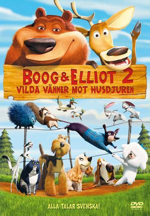 Boog & Elliot 2 - Vilda vänner mot husdjuren poster