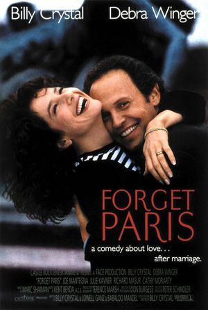 Glöm Paris poster
